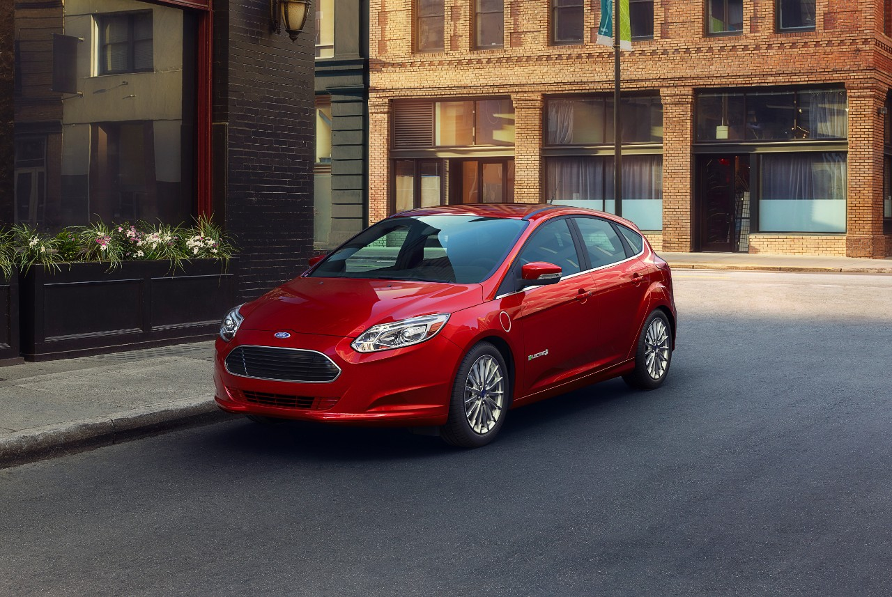 (Ford Focus Electric. Credit: Ford)