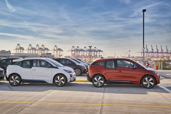 (i3 fleet ready for shipping. Credit: BMW)